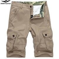 New Arrival 2017 Summer AFS Jeep Men's Fashion Pants Beach Short Pants Knee Length Pants Plus Size 30 44 WN 81.25