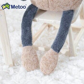 Мягкая плюшевая игрушка ослик Metoo 5