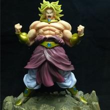 Dragon Ball Z Broli фигурка броли Legendary Super Saiyan Broli Son Goku Radish Kakarotto 25 см ПВХ фигурка модель детей