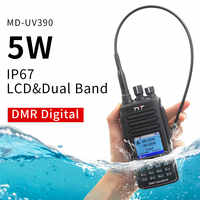 TYT MD-UV390 DMR talkie-walkie numérique UV390 IP67 étanche double bande UV émetteur-récepteur GPS en option Upgrde de MD-390 + câble USB