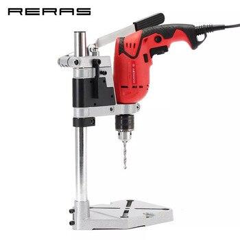 Bohrmaschine Halterung 400mm Bohren Halter Grinder Rack Stehen Clamp Bankdrücken Stehen Haltekraft Werkzeuge Zubehör Holz
