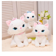 The Aristocats cat plush toys Marie cat plush dolls Soft Stuffed Animals toys for children 25cm