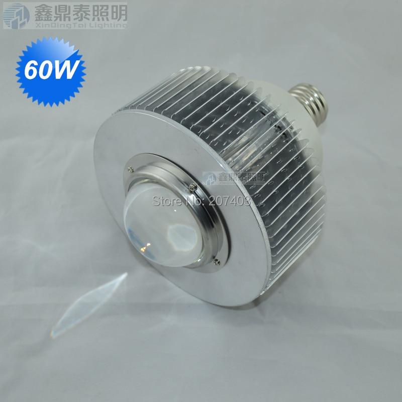 E40 60W 70w LED Bulb 60W hig bay bulbLight E27 70w LED High Bay Light AC90-260V 3 years warranty CE RoHS nickel bay nick