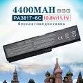 6 bateria do portátil celular para toshiba satellite l650 l655 pa3817 pa3816u-1bas pa3817u-1bas pa3817u-1brs l745 l740 l750 l750d l755