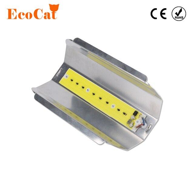LED Flood Light 20W 30W 50W 80W IP67 Waterproof AC 220V High Power COB Chip High Lumen LED Projector Search Light For Garage War