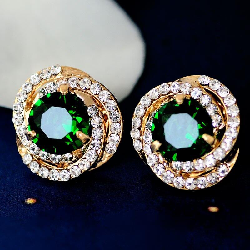 Femmes mariage Mu Xia nouvelle oreille bijoux cristal boucles d'oreilles femmes étoiles OL vent 100 corée anniversaire cadeau bijoux ornements collocati