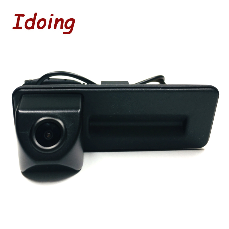 Idoing CCD Car Rear Camera Special Camera For Skoda Octavia 2 Car Radio Multimedia DVD Audio Vedio Player
