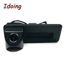 Idoing CCD กล้องด้านหลังกล้องพิเศษสำหรับ Skoda Octavia 2 รถวิทยุมัลติมีเดีย DVD Audio Video Player