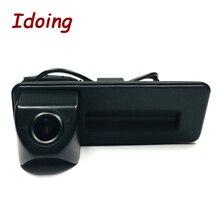 Idoo caméra arrière de voiture, lecteur multimédia DVD Audio et vidéo, caméra spéciale pour Skoda Octavia 2