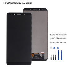 Original For UMI Umidigi S2 LCD Display Touch Screen Digitizer For UMI Umidigi S2 Display Screen Assembly Phone Parts Free Tools