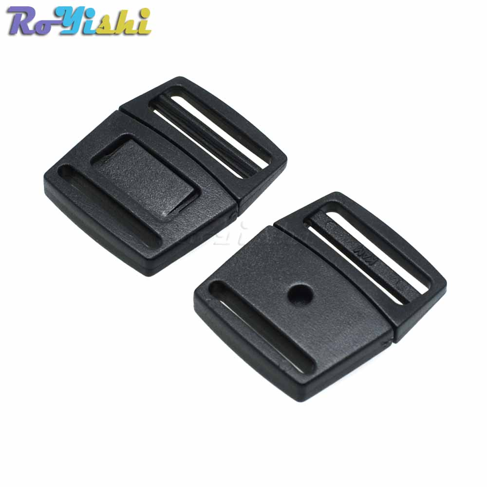 """Details about  /1pcs//pack Pack 1/"""" Webbing Plastic Two-stroke Side Buckle For Tactical Backpack"""