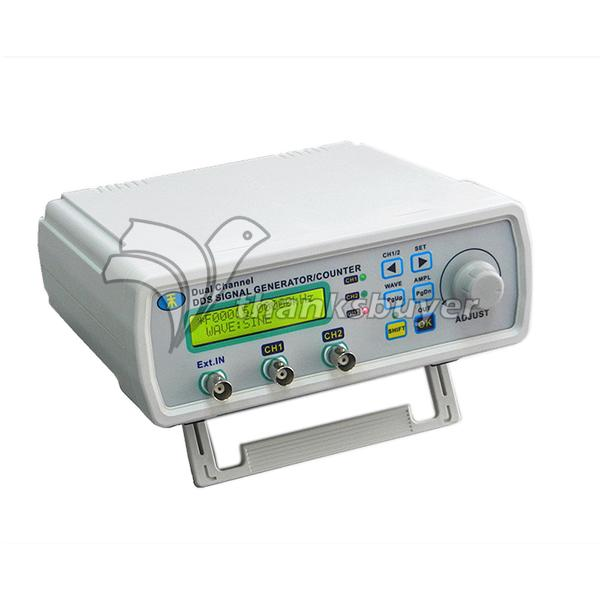 MHS-3200P Dual Channel Full Digital Control Function Signal Generator DDS Signal Source Frequency Meter free shipping mhs 3206a dual channel nc function dds signal generator counter dds signal source frequency meter 6mhz