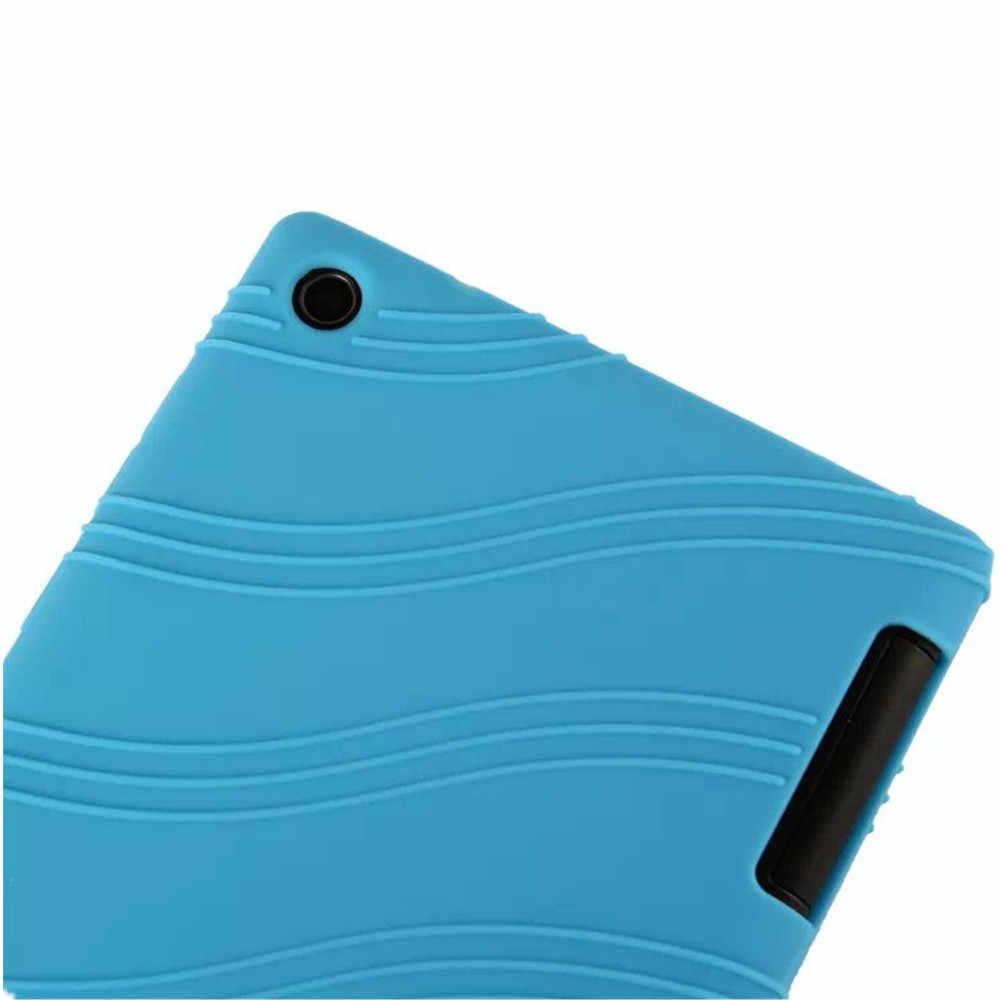 غطاء سيليكون لينوفو تاب 2 A7-30HC A7-30GC A7-30TC A7-30DC غلاف حماية خلفي لين لينوفو Tab2 7.0 A7-30