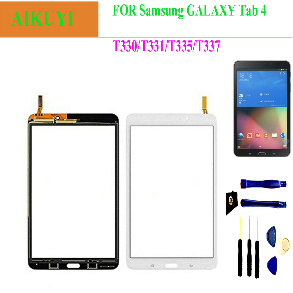 For Samsung Galaxy Tab 4 8.0 T330 T331 T332 T335 T337 Touch Screen Digitizer LCD Panel Front Glass Sensor PartsFor Samsung Galaxy Tab 4 8.0 T330 T331 T332 T335 T337 Touch Screen Digitizer LCD Panel Front Glass Sensor Parts