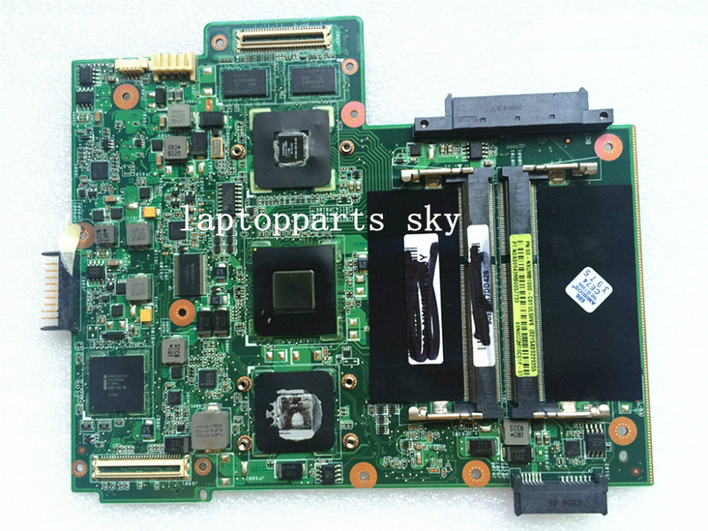 Original new laptop motherboard for ASUS UL50VS REV:2.2 60-NXUMB1000 with CPU mainboard 100% working new n56jr laptop motherboard for asus with i7 cpu with high quality