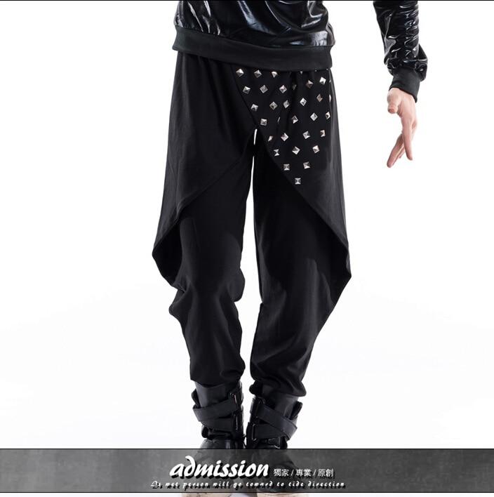 Scène Pantalon De Discothèques 40Hommes Taille Djds Plus La Harem Mode 27 Jupes Chanteur Personnalité stQdhCBrx