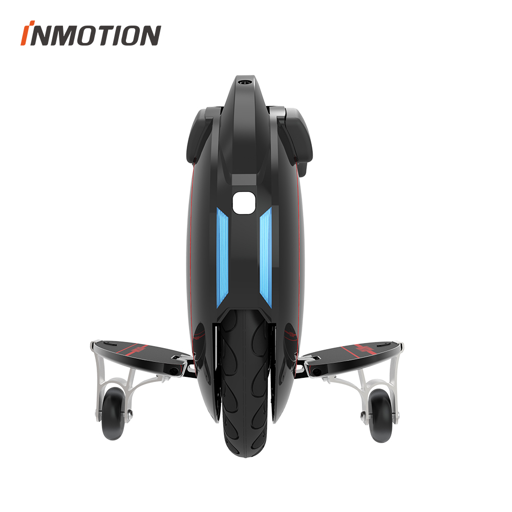 D'origine INMOTION V5 Monocycle Électrique Auto Équilibrage Scooter EUC Avec Décoratif Lampes Mono-Trace Une Roue Hover Longue Planche