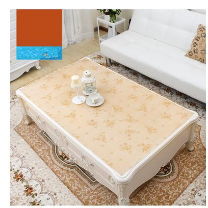 1Pcs/Lot PASAYIONE Europen Gold Stamping Pvc Table Cloth Rectangular Small Fresh Tea Table Cloth Tablecloth Garden Table Mat Dec