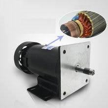 JS-ZYT22 speed permanent magnet DC motor 1 speed motor power 220V / 1800 rpm / 500W Power Tool Accessories 220v dc permanent magnet motor 750w high power 1800 rpm high speed motor speed reversing cutting motor