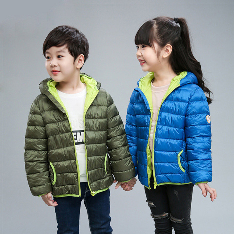 2019 Autumn Children Jackets Hooded Outerwear Boys Warm Jacket Fashion Kids Zipper Coat Clothes Teenager Girls Outerwear Jacket (6)