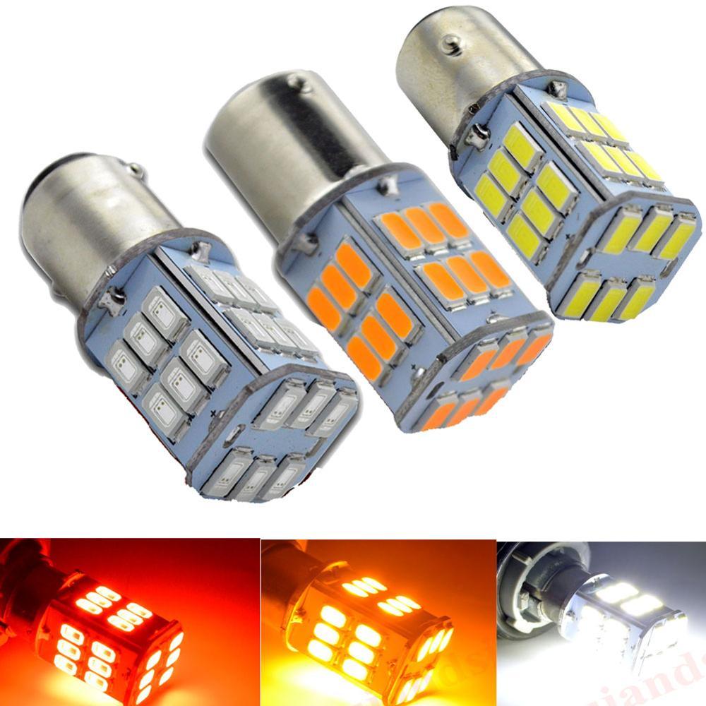 10X 27SMD LED Car 1156 BA15S  Backup Reverse Light Turn signal Bulb 6000K 12V