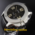 Sapphire crystal 47 mm PARNIS MIYOTA  Automatic  movement men watches Mechanical Wristwatches High quality