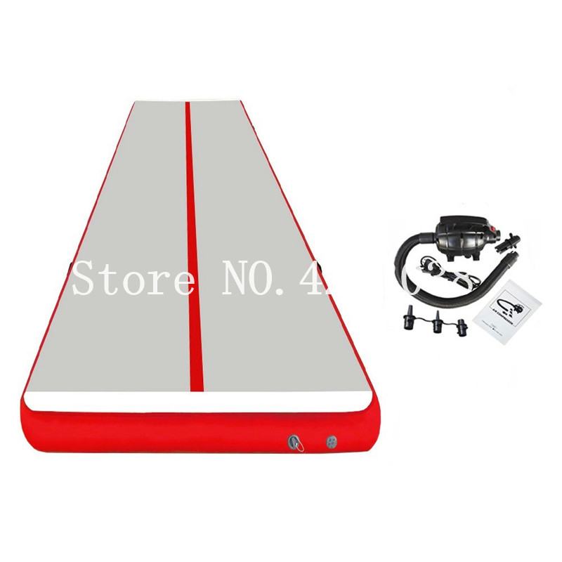 Free Shipping 2019 Air track 5m Inflatable Cheap Gymnastics Mattress Gym  Tumble Airtrack Floor Tumbling Air Track For Sale