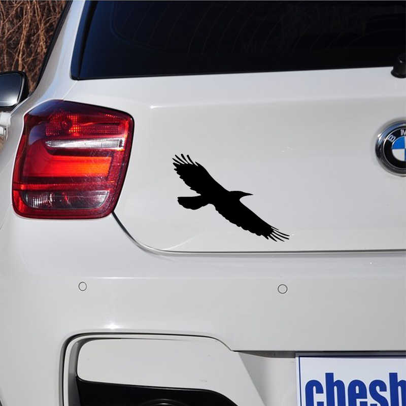 4f0a9cb1f ... Crow Raven Birds vinyl sticker Decal for Car SUV Truck Window Bumper  Laptop Wall Decals stickers ...