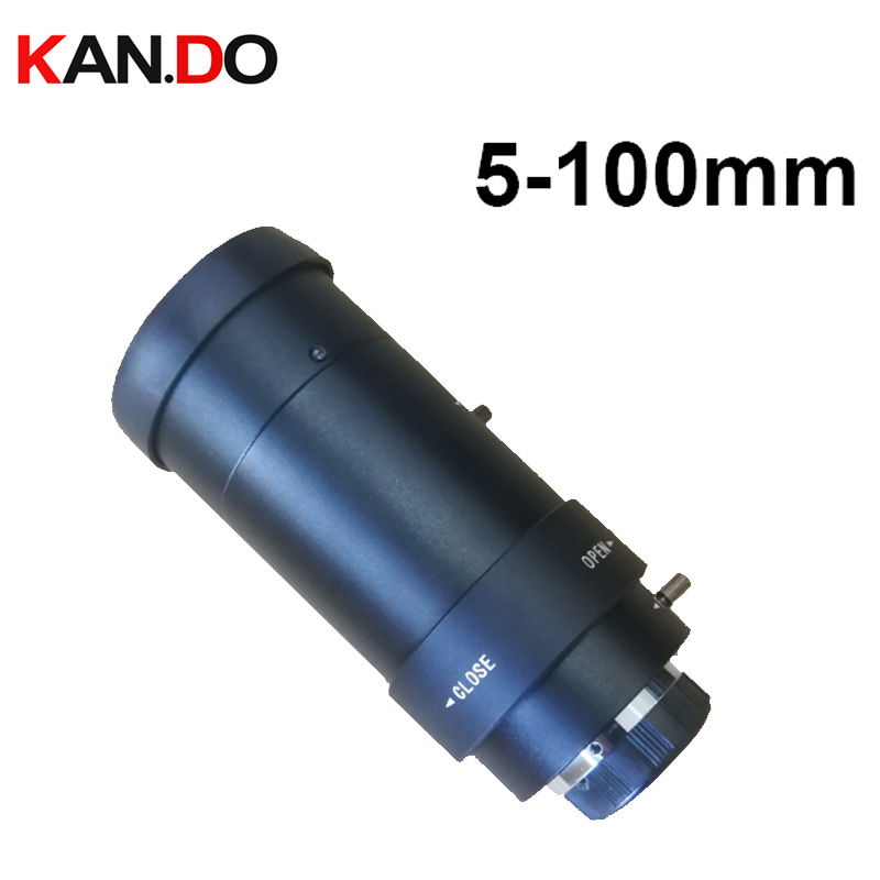 1 3 5 100mm CCTV Lens IR F1 8 CS Aperture Focal Manual Iris for IP