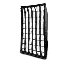 80*120cm ((2.6*3.9ft) Honeycomb Grid Umbrella Photo Studio Rectangle Softbox Soft Box for Photography Strobe Flash Lighting