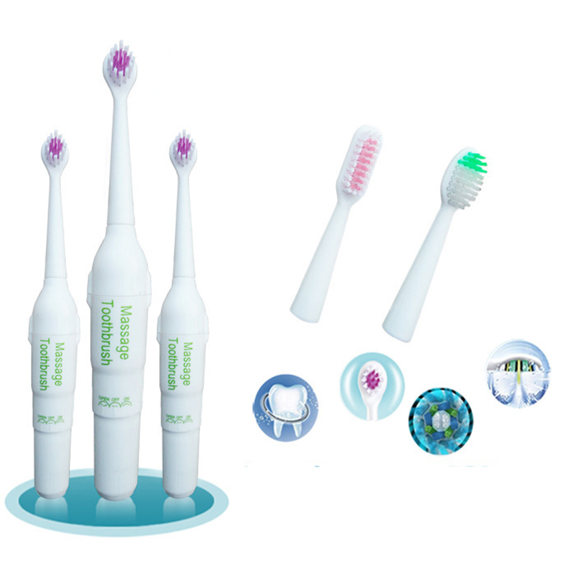 Professional Precision Electric Toothbrush Useful Teeth Oral Care + Brush Head kit Hygiene Dental Care for Adult&kids X008 2017 teeth whitening oral irrigator electric teeth cleaning machine irrigador dental water flosser professional teeth care tools