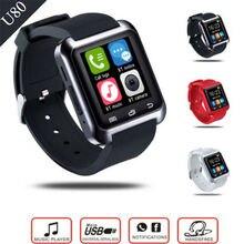 Bluetooth Smart Uhr Android Digital-uhr Wireless Smart Uhr Tragbare Smartwatch Für Apple ios Samsung PK GT08 DZ09