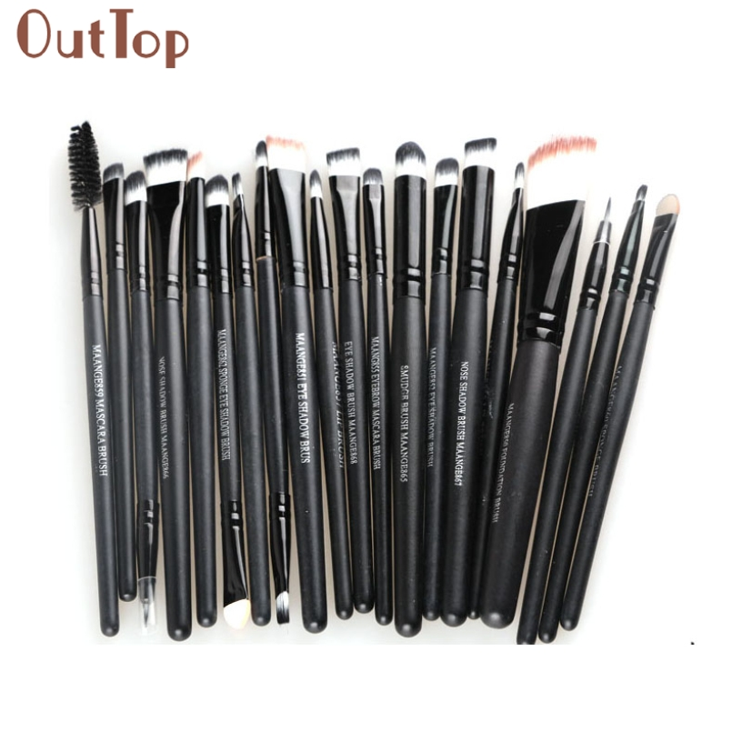 Makeup Brushes,Foundation Powder Concealer Eyeshadow Eyeliner Eyebrow Eyelash Lip Blending Make Up Brush Set Kit 2017 new death note l ryuuku ryuk pvc action figure anime collection model toy dolls 24cm