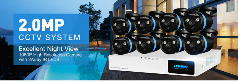CCTV Security Camera System 8ch