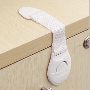 10pcs lot Drawer Baby Safety Lock Children Safety Products Child Lock Drawers Door Wardrobe Baby Lock