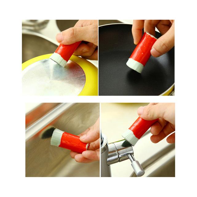 Hot Sale Magic Stainless Steel Rod Magic Stick Metal Rust Remover Cleaning Brush Useful Kitchen Clean Tools