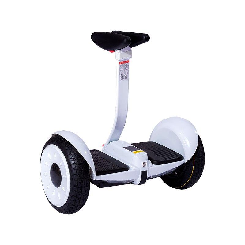 Scooter électrique de contrôle de jambe de Scooter d'équilibre d'individu de Hoverboard électrique de double roue de 54 V - 2