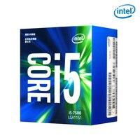 Intel/Intel i5 7500 настольный компьютер quad core процессор в штучной упаковке Процессор Совместимость B250 Z270