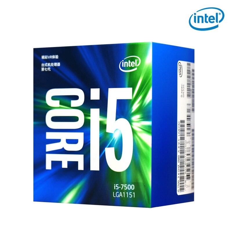 Intel/ Intel I5 7500 Desktop Computer Quad Core Boxed Processor CPU Compatible B250 Z270