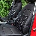 Cls  Black Mesh Lumbar Back Brace Support Office Home Car Seat Chair Cushion Jun15