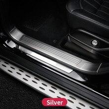 Per Mercedes Benz GL450 X166 GLS amg Davanzale Del Portello Piatto Dello Scuff Pedale Benvenuto Assetto Della Copertura Sticker Accessori