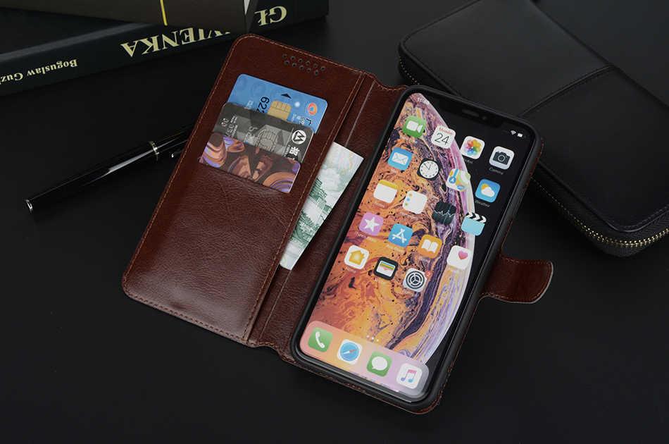 Da Trường Hợp Mềm cho Sony Xperia Z1 Nhỏ Gọn D5503 Z1 Mini M51W L39H C6902 C6903 Lật Stander Wallet Trường Hợp Che coque Bao Da