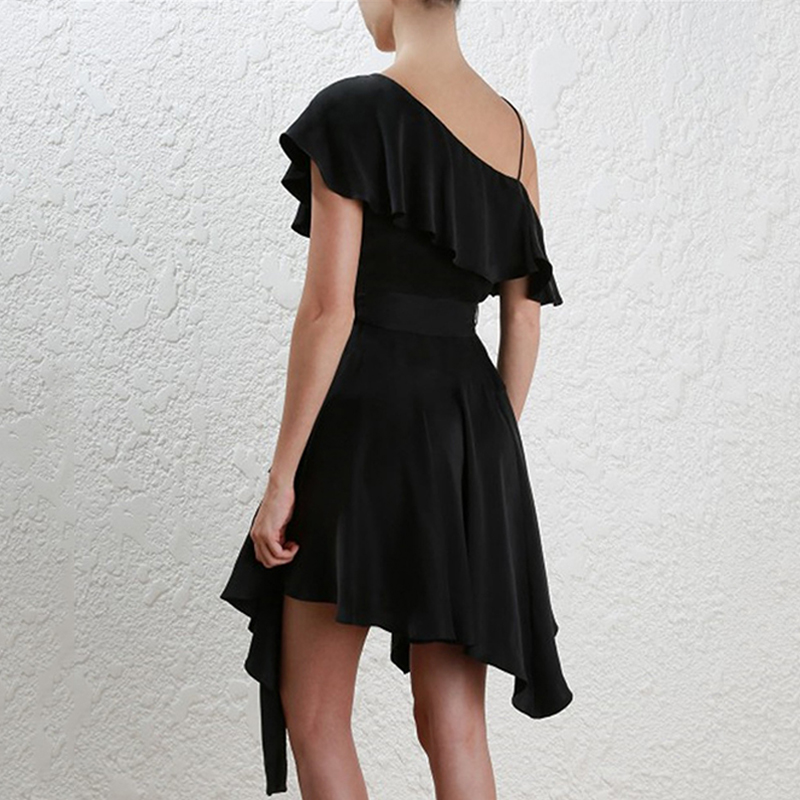 INDRESSME-2019-New-Fashion-Off-the-Shoulder-V-Neckline-Sashes-Ruffle-Women-Party-A-Line-Midi (2)