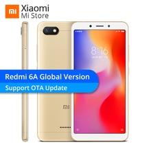 Küresel Sürüm Xiaomi Redmi 6A 2 GB RAM 16 GB ROM Helio A22 Cep Telefonu 13.0MP Arka Kamera 3000 mAh 5.45