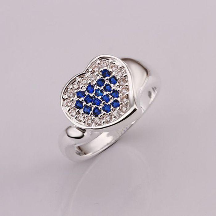 Anillos 925-esterlina-plata joyería de las mujeres exquisitas de la ...