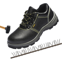 Summer safety shoes breathable steel toe caps anti smashing anti piercing safety boots work shoes