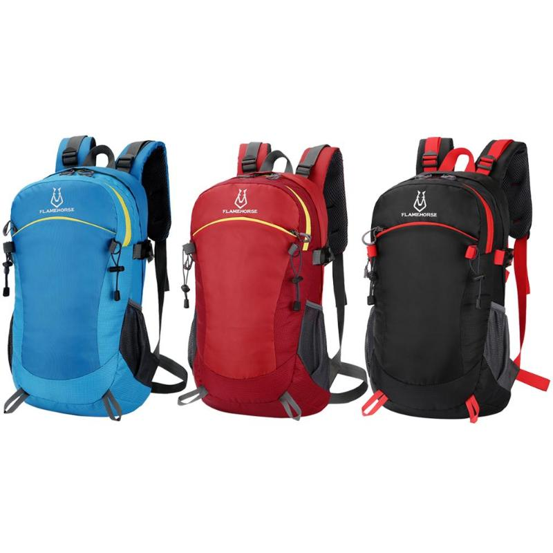 Outdoor Sports Climbing Backpack Waterproof Foldable Travel Hiking Knapsack