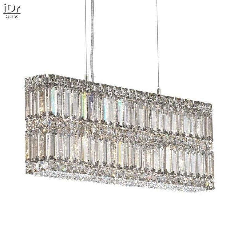 Polished Chrome Lampa Lampy Kryształowe żyrandole