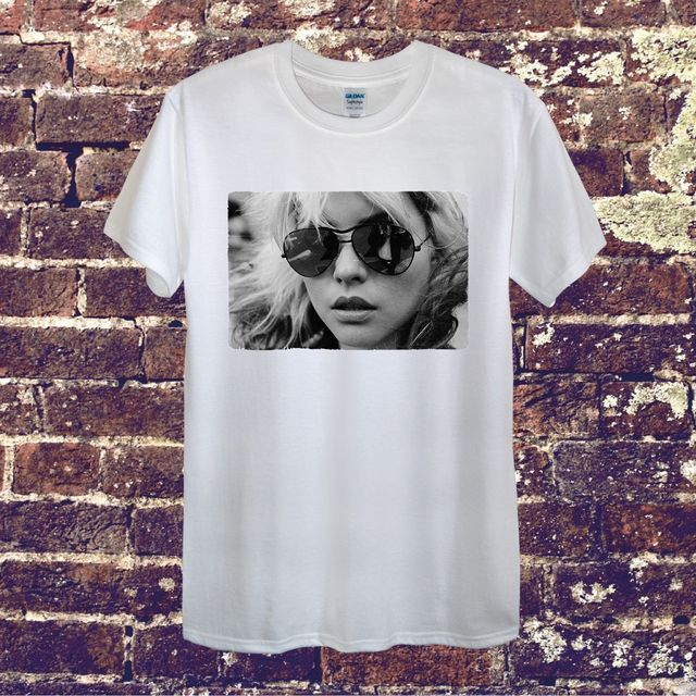 fbb2a99b Debbie Harry Blondie Star Vintage Design T-Shirt Men Women Unisex Sexy  American