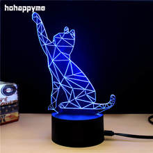 Cat Neon Acrylic LED Sign Light Bar Pub Cafe Desktop Child's Room Decoration Plaque Panels